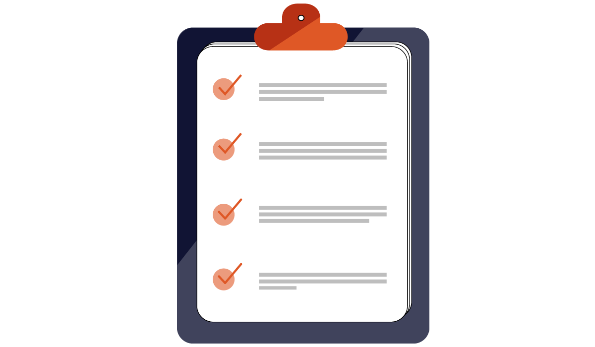 Membership Application Form Checklist Header Image