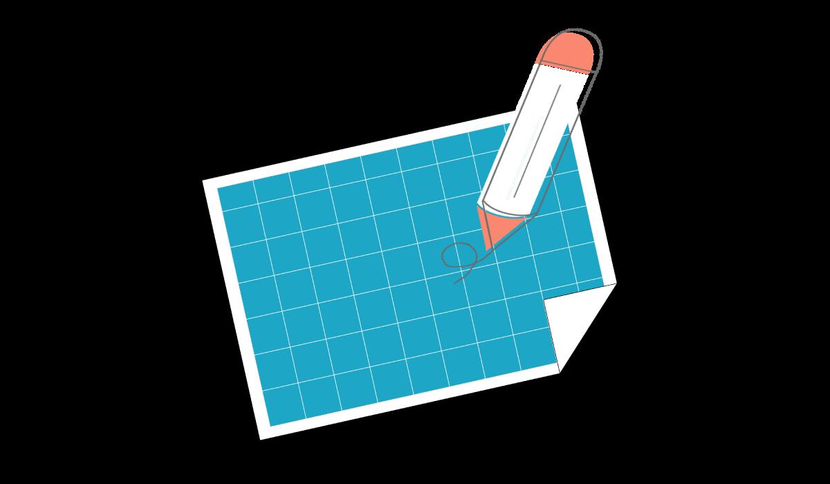 marketing plan template header image